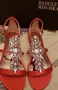 Red Badgley Mischka Beauties!!